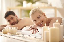 Couple in a SPA