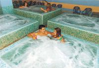 Jacuzzi in spa
