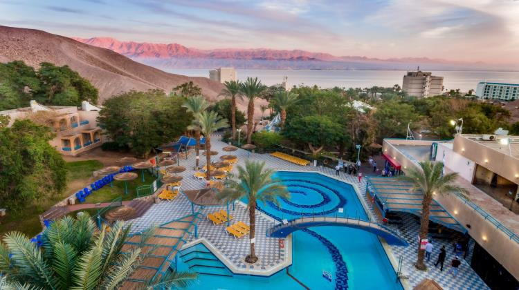 View on the hotel, Club In Eilat