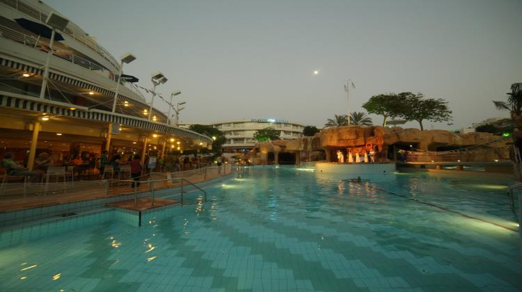 Swimming Pool, Club Hotel Eilat