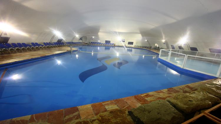 roofed poolswimming pool, Club Hotel Tiberias