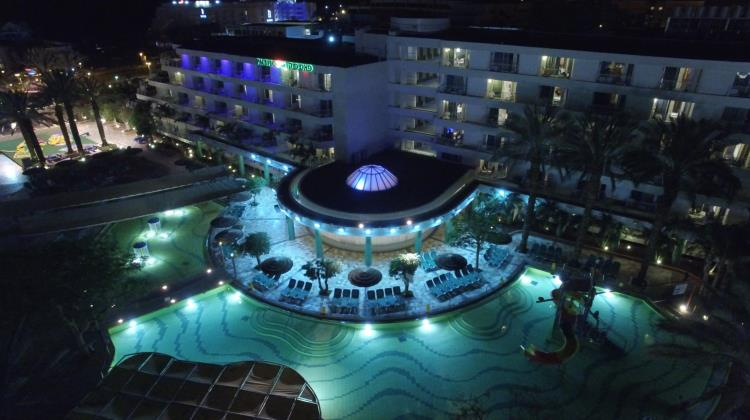 A view of the hotel, Club Hotel Eilat